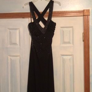 Gorgeous black evening gown